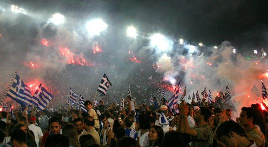 Euro 2004 Greece celebrations