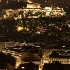 Ακρόπολη και Παρθενώνας απο τον λόφο του Λυκαβητού