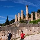 Delphi archaeological  site, temple of Apollo