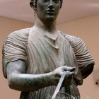 Delphi archaeological site,Charioteer of Delphi