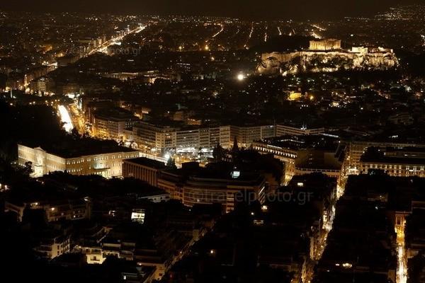 Αθήνα-θέα-Ακρόπολη-Παρθενώνας-Λυκαβητός