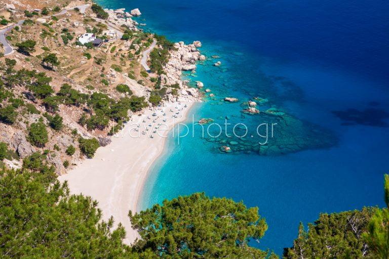 Παραλίες και χωρία στη Κάρπαθο