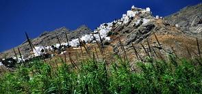 Serifos island Chora Cyclades