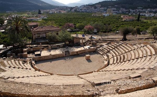 ancient epidavros little theater