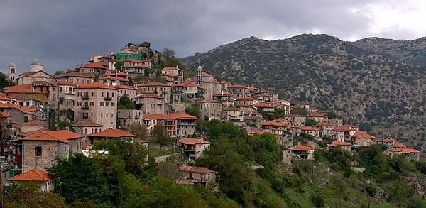 Dimitsana village, Arcadia