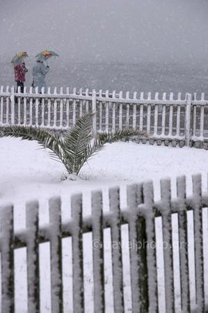 Χιονόπτωση στην Αθήνα