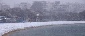 χιονια στην Αθήνα