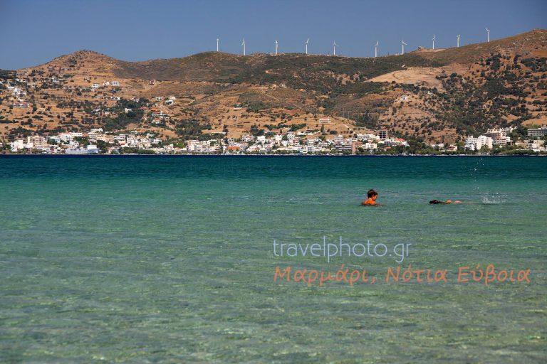 Marmari coastal village, South Evia