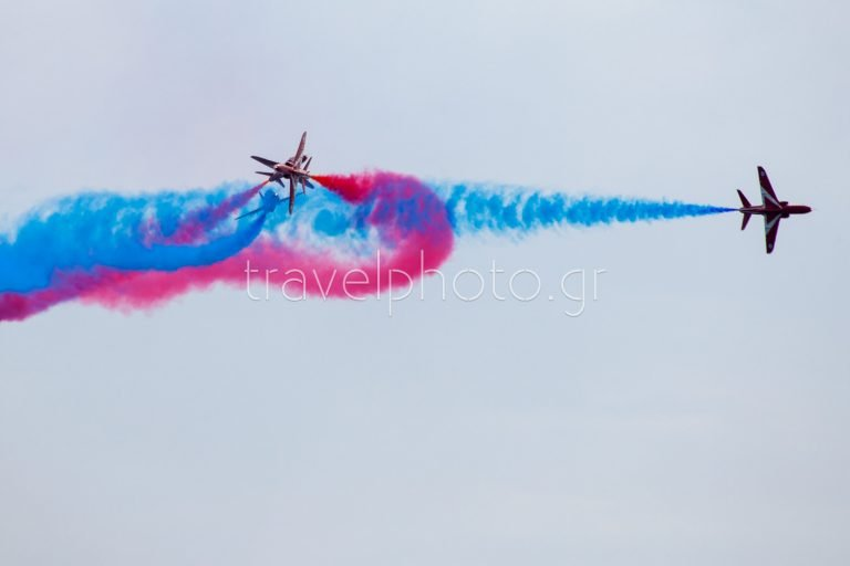 Red Arrows in Athens