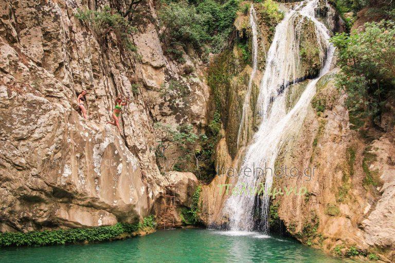 Polylimnio in  Messinia prefecture, Peloponnese