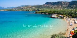 Παραλία Καλογριά στη Στούπα Μεσσηνίας