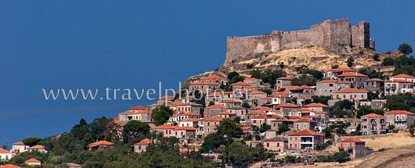 Molyvos village, Lesvos island