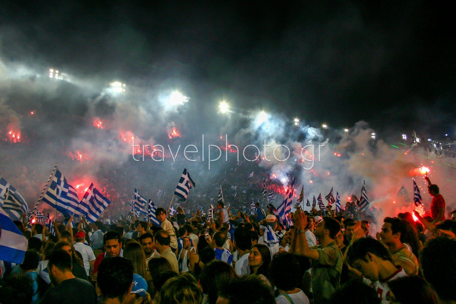 Euro 2004-Greece-celebrations-Athens