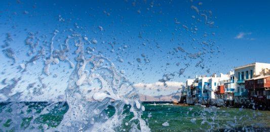 Mykonos island, Mikri Venetia, alt text