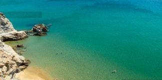 παραλία στην Ανάφη