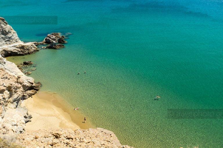 Beaches at Anafi island