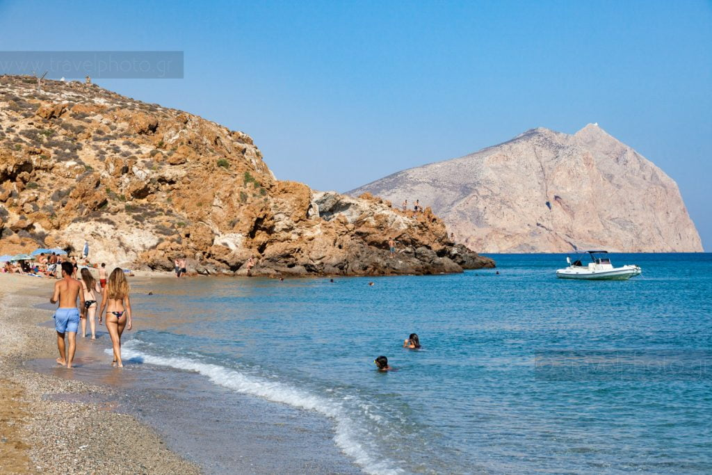 Παραλία Ρούκουνας στην Ανάφη