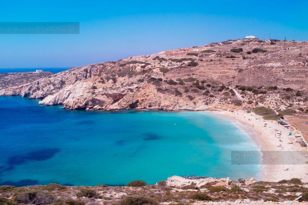 Παραλία Κέδρος, Δονούσα, Μικρές Κυκλάδες