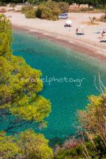 Παραλία Άγαλμα Κάρυστος Μπούρος